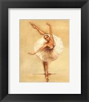 Framed Ballerina I