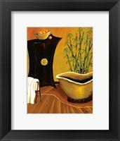 Framed Asian Bath