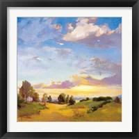 Framed Golden Horizons