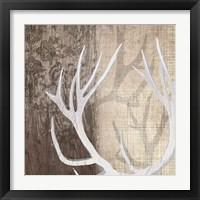 Framed Deer Lodge I