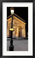 Framed Paris Nights I