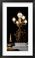 Framed Paris Nights II