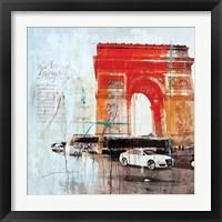 Framed City of Light II