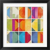 Framed Pattern Tiles II