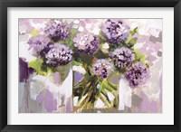 Framed Blush Hydrangea