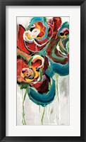 Framed Wasabi Rose II