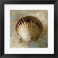 Framed Seaside Souvenir