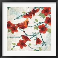 Framed Birds and Butterflies IV