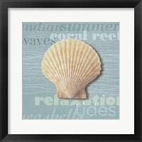 Framed Beach Collection III