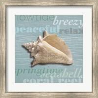 Framed Beach Collection IV