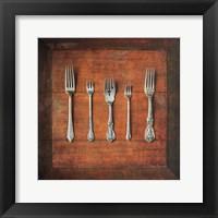 Framed Meal Time I