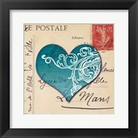 Framed Le Coeur d'Amour II