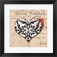 Framed Le Coeur d'Amour IV