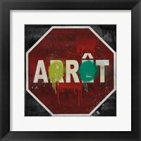 Framed Arret
