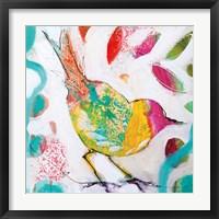 Framed Petite Bird IV
