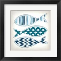 Framed Fish Patterns I