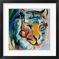 Framed Tiger Tiger