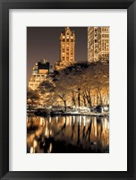 Framed Central Park Glow II