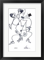 Framed Spanish Sketches III