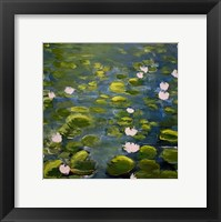 Framed Lily Pads II