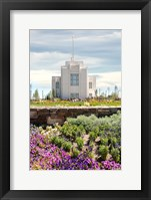 Framed Twin Falls Temple