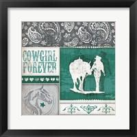 Framed Cowgirl Forever