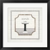 Framed Sink Scrub