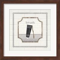 Framed Toothbrush Brush