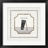 Framed Toothbrush Brush