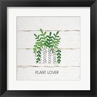 Framed Plant Lover