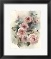 Framed Blush Roses II