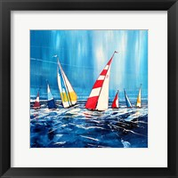 Framed Sailing Boats II
