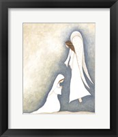 Framed Mary and Angel