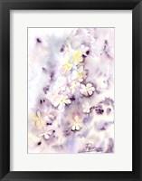 Framed Purple Flowers III