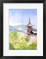 Framed Asian Landscape I