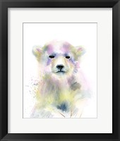 Framed Bear Cub
