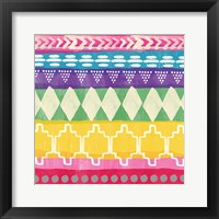Framed Mexican Decorative I