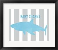 Framed Baby Sharks II