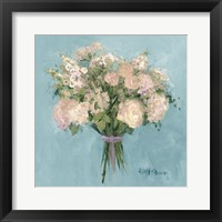 Framed Rose Bouquet I