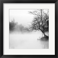 Framed Fog on the Lake