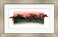 Framed Horse Race