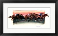 Framed Horse Race
