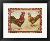 Framed Chicken I