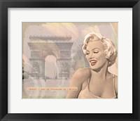 Framed Marilyn Triomphe