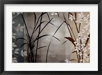 Framed Silver Whispers II