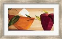 Framed Flores Frescas II