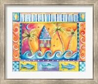 Framed Beach House