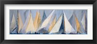 Framed First Sail I