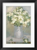 Framed White Lilacs