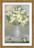 Framed White Lilacs